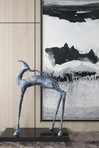 雕塑陳設品3D模型【ID:346259145】
