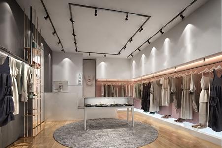 現代服裝店3D模型【ID:120814705】