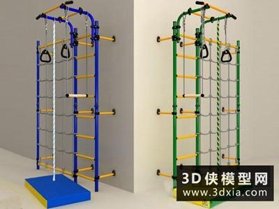 運動器材國外3D模型【ID:129348841】