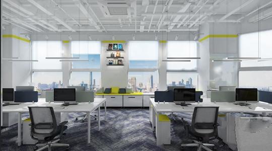 外企現代創意辦公室3D模型【ID:220807429】