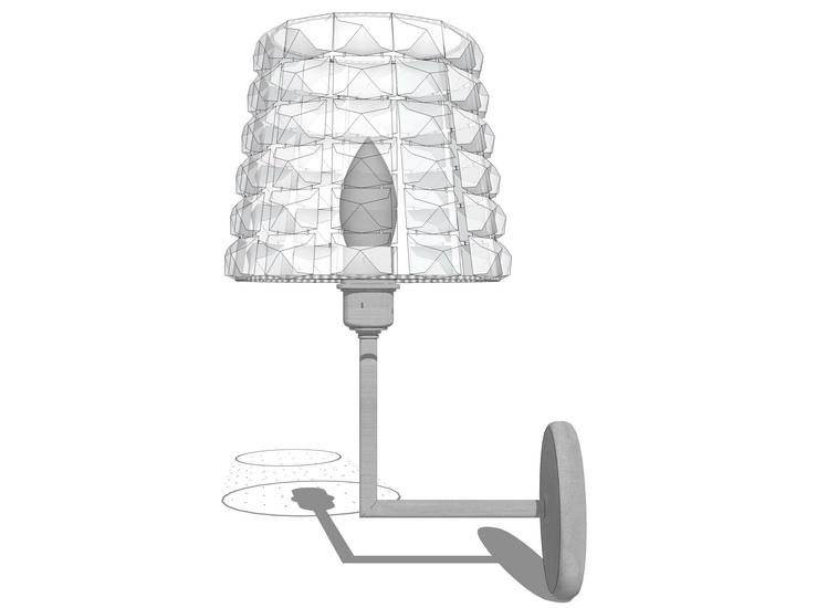 壁燈SU模型【ID:336457970】