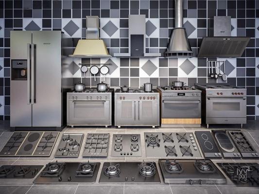 廚房家電3D模型【ID:828141368】