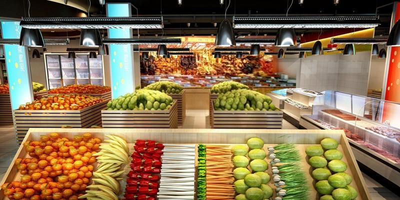 超市3D模型【ID:528043334】
