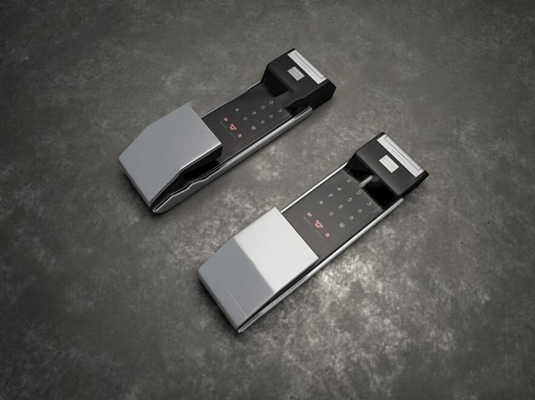 现代大门密码门锁3D模型【ID:86843144】