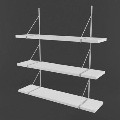 现代简约创意多层置物架简约3D模型【ID:86926995】