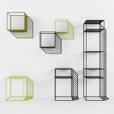 创意小清新壁饰置物架创意3D模型【ID:86927293】