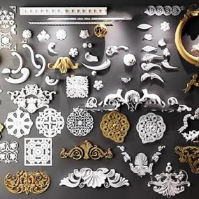 欧式雕花雕刻构件组合365彩票【ID:86971460】