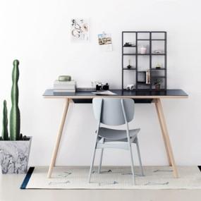 北欧书桌椅3D模型【ID:327916728】