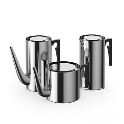 现代不锈钢水壶3D模型【ID:87036932】