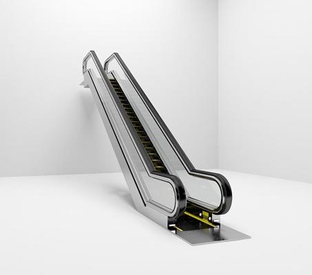 现代扶手电梯3d模型【ID:87080455】
