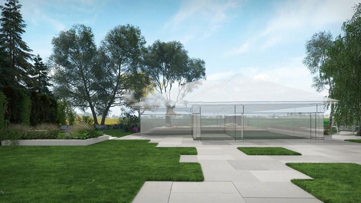 现代室外公园绿植景观3D模型【ID:87155941】