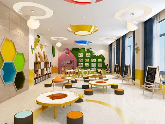 幼儿园3D模型【ID:620017097】