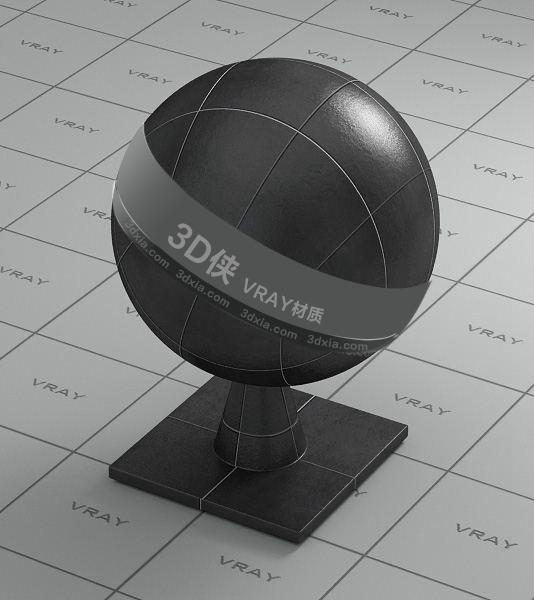黑色地砖Vray材质【ID:736469717】