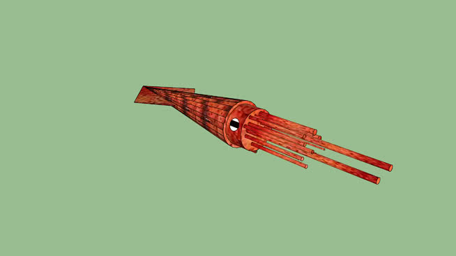 魷魚SU模型【ID:739996622】