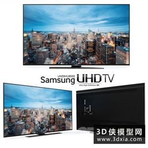 电视机国外3D模型【ID:129307749】