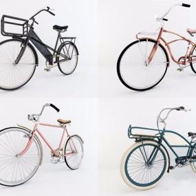 复古自行车3D模型【ID:928207905】