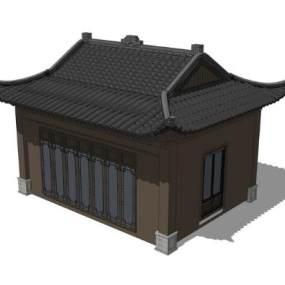 古建阁楼SU模型【ID:850735685】