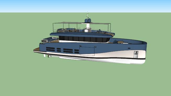 华莱士汽车游艇SU模型【ID:140004340】