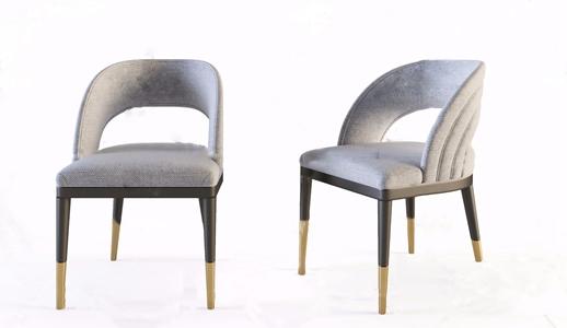 現代單椅3D模型【ID:231399402】