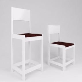 现代椅子-KMJ3D模型【ID:227889909】