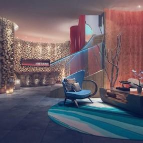 名宿酒店3D模型【ID:528009275】