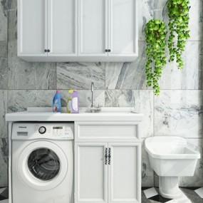 现代洗衣机3D模型【ID:127862775】