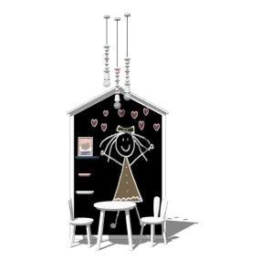 儿童桌椅SU模型【ID:536516321】