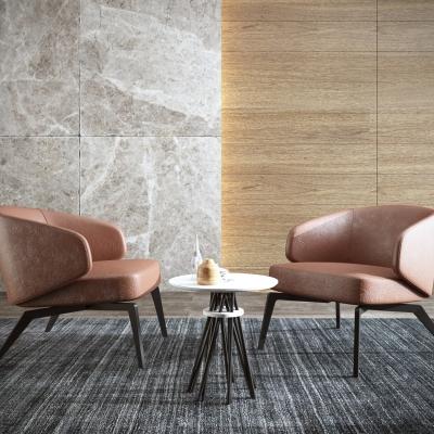 现代皮革单人沙发3D模型【ID:927837689】
