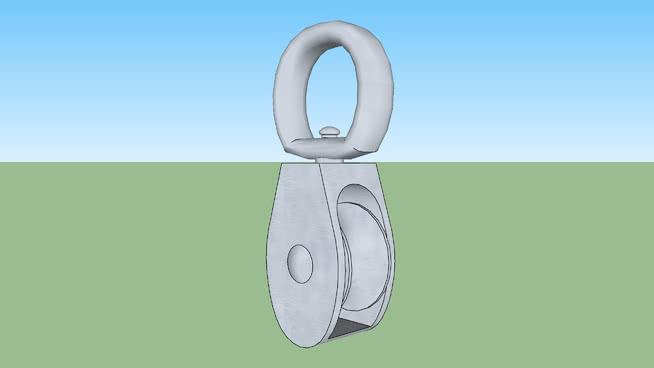 旋转滑轮-硬件SU模型【ID:940020284】