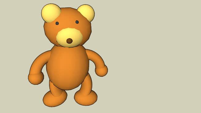 泰迪熊SU模型【ID:740021561】