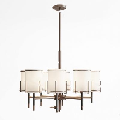 现代吊灯3D模型【ID:220610860】