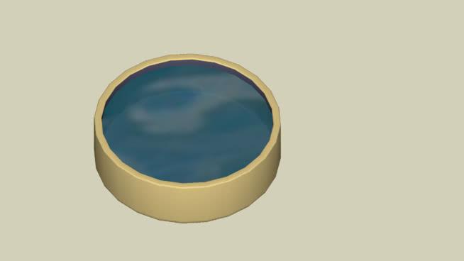 陶瓷水盆SU模型【ID:740027584】