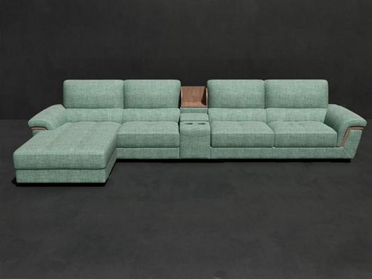 多人沙发3D模型【ID:720024117】