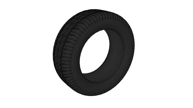 輪胎SU模型【ID:438424982】