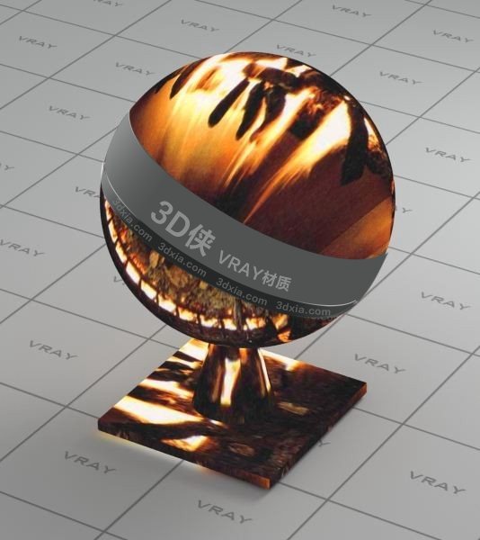 火堆Vray材質【ID:836473645】