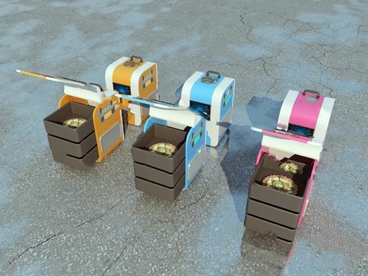 现代餐具3D模型【ID:920615312】