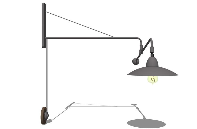 壁燈SU模型【ID:336557976】