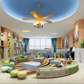 幼儿园3D模型【ID:527856868】