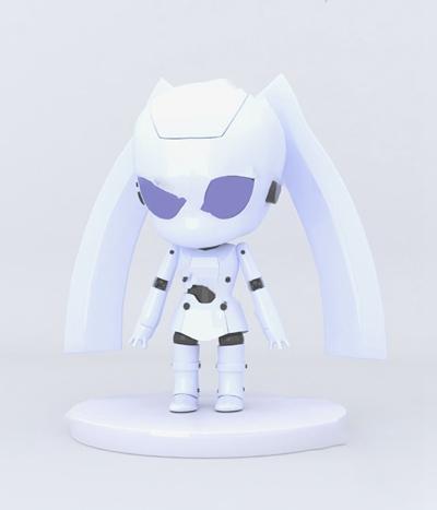 现代机器人3D模型【ID:620614054】
