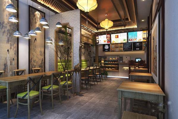 餐厅3D模型【ID:120023886】