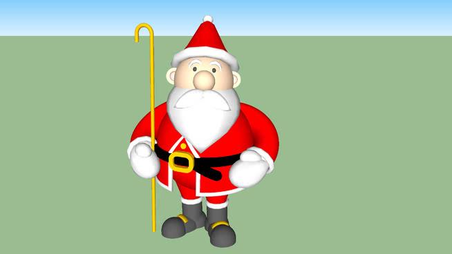 圣誕老人,PpaiSU模型【ID:640036730】