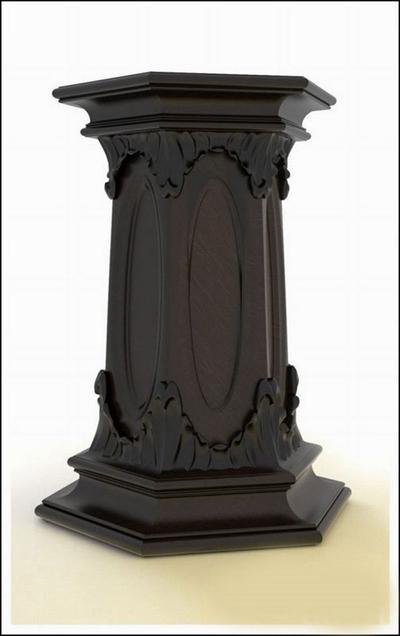 黑色大理石欧式构件3D模型【ID:915037243】