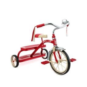 红色自行车3D模型【ID:915232185】