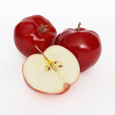 红色水果3D模型【ID:915233828】