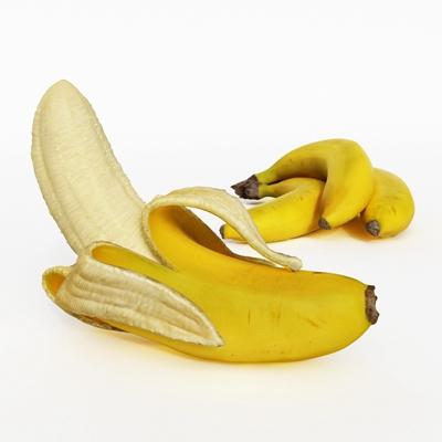 黄色水果3D模型【ID:915233862】