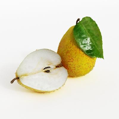 黄色水果3D模型【ID:915234858】
