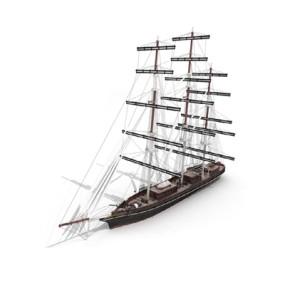 帆船3D模型【ID:915242993】