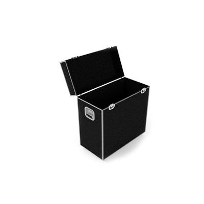 现代黑色长方形木艺箱子3D模型【ID:915243181】