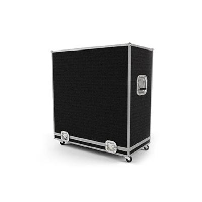 现代黑色长方形木艺箱子3D模型【ID:915243183】