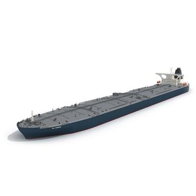 灰色貨船3D模型【ID:915243830】